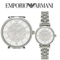 Emporio Two Tone Stainless Steel シルバー