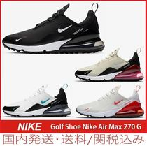【セール/国内発送】Golf Shoe Nike Air Max 270 G