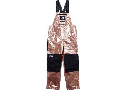 定価より安い!即発送 Supreme TNF Metallic Mountain BibPants