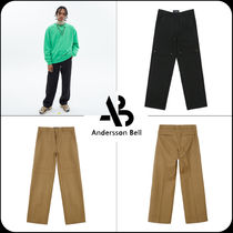 [ANDERSSON BELL] ★DOUBLE KNEE WIDE TROUSERS