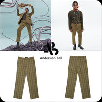 [ANDERSSON BELL] ★韓国大人気★RAW-CUT SUIT PANTS