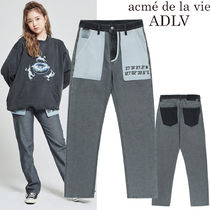 アクメドラビ★ADLV REVERSED DENIM PANT FOR WOMEN BLACK