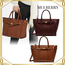 Mulberryn マルベリー Small Zipped Bayswater Natural Grain