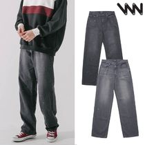 WV PROJECT★Inky Sprinkle Wide Denim Pants 2カラー CJLP7415