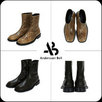 [ANDERSSON BELL] ★ CROC NEW PANEL SQUARE TOE CHELSEA BOOTS