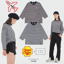 【CHUPA CHUPS X RMTCRW】STRIPED LONG SLEEVE★男女兼用★