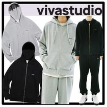★関税込★VIVASTUDIO★BASIC LOGO HOODIE ZIP UP JA★フーディ
