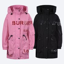 【BURBERRY】HORSEFERRY タフタパーカー ☆ 国内発/関税込