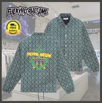 Fucking Awesome(ファッキング オウサム) ブルゾン 【国内発送】送関込/Fucking Awesome/Eyes Coaches Jacket