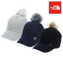 ★THE NORTH FACE★韓国 ロゴ ニットキャップ W KNIT LOOSE CAP
