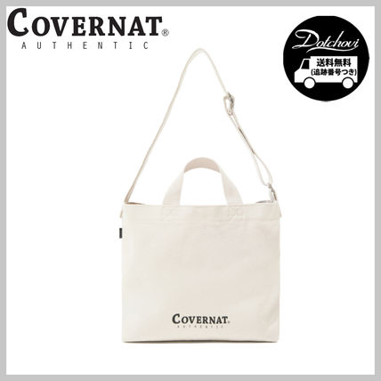 COVERNAT AUTHENTIC LOGO SMALL 2WAY BAG YJ407 追跡付