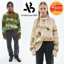 Andersson Bell INTARSIA CREW-NECK SWEATER BBN1609 追跡付