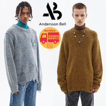 Andersson Bell DAMAGED CREW NECK SWEATER BBN1611 追跡付