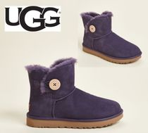 UGG☆Night Shade Bailey Button II Shearling-Lined Boots