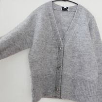 """& Other Stories(アンドアザーストーリーズ) カーディガン """"& Other Stories"""" Bee Button Alpaca Blend Cardigan Gray"""