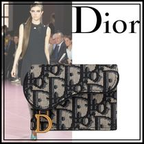 ★DIOR★ SADDLE コンパクト ウォレット ☆DIOR OBLIQUE☆