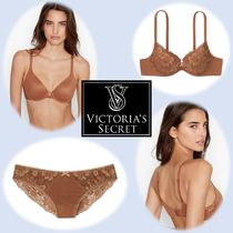 【Body by Victoria】ブラ&ショーツセット:Brown Lace