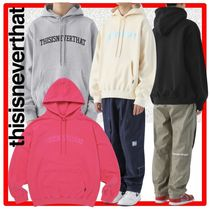 韓国の人気☆【thisisneverthat】☆ARC-Logo hooded Sweatshirt