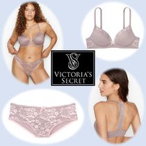 【Body by Victoria】ブラ&ショーツセット:Violet/Grey Lace