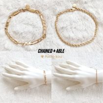 Chained & Able(チェーンドアンドエイブル) ブレスレット ★Chained&Able★ MAJESTY ブレスレット 2個セット ゴールド