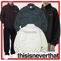☆韓国の人気☆【thisisneverthat】☆DSN Fleece Jacket☆4色☆