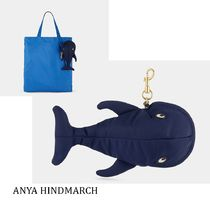 Anya Hindmarch☆WHALE(クジラ)チャーム ナイロンショッパー