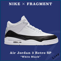 "【NIKE×FRAGMENT】コラボ Air Jordan 3 Retro SP ""White Black"""