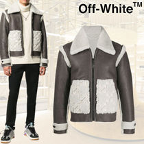 【20AW】★OffWhite★シープスキンレザージャケット