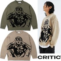 ★CRITIC★SCOUTS BOY KNIT 2色