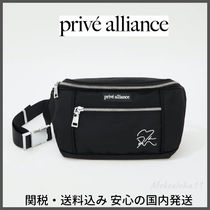 Prive☆STAMP FANNY PACK ボディバッグ【EXOベッキョンコラボ】
