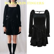 日本未入荷★Margarin Fingers★velvet tiered one piece