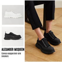 {ALEXANDER MCQUEEN} exaggerated-sole sneakers 送料関税込