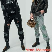 ★MARDI MERCREDI★SWEAT PANTS ALL-FLOWER 2色