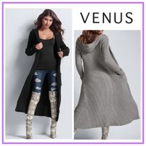 ♦VENUS♦フードつき♡Ribbed Hooded Duster