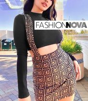 【Fashion Nova】Seriously meanスカートセット