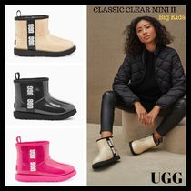 【UGG】大人もOK!防水ムートンCLASSIC CLEAR MINI Big kids