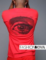 【Fashion Nova】Real EyeTシャツ