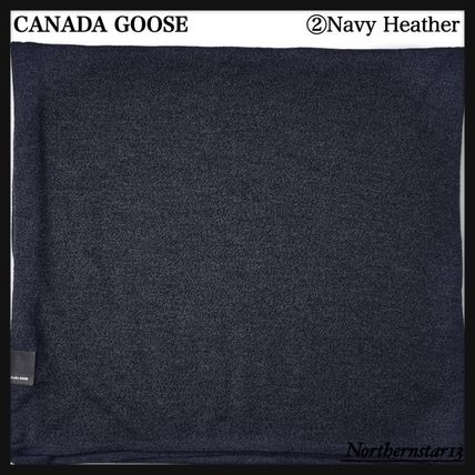 CANADA GOOSE マフラー 【CANADA GOOSE】メリノウール/Knit Jersey Scarf/各色(4)