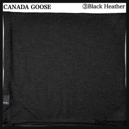 CANADA GOOSE マフラー 【CANADA GOOSE】メリノウール/Knit Jersey Scarf/各色(6)
