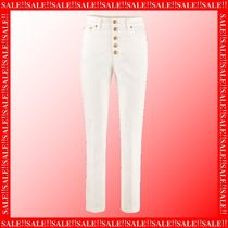 【SAIL】Tory Burch High-rise Straight Ankle Jeans