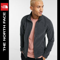 SALE【NORTH FACE】ロゴ フリース グレー / 送料無料