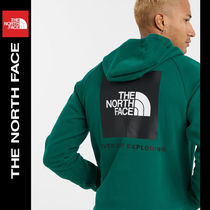 SALE【NORTH FACE】バックロゴ パーカー グリーン / 送料無料