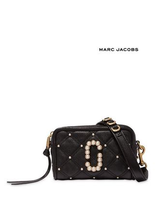 Marc Jacobs☆The Softshot 17 Quilted with Pearls Crossbody