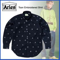 20AW◆洒落感抜群◆ARIES◆Toon Embroidered Shirt