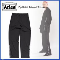20AW◇LUXURYストリート◆ARIES◆Zip Detail Tailored Trousers