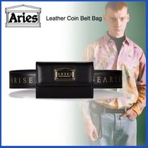 20AW◇LUXURYストリート◆ARIES◆Leather Coin Belt Bag