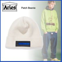 20AW◇UK発◇LUXURYストリート◆ARIES◆Patch Beanie