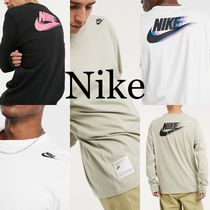 【Nike】バックプリントロンTee◆Tシャツ◆長袖 3色展開