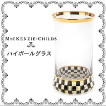MacKenzie-Childs★Courtly Check ハイボールグラス