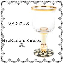 ★MacKenzie-Childs★Courtly Check ワイングラス 関税送料込み